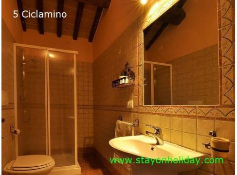 Caratteristico agriturismo con piscina, Cossignano (AP), Marche